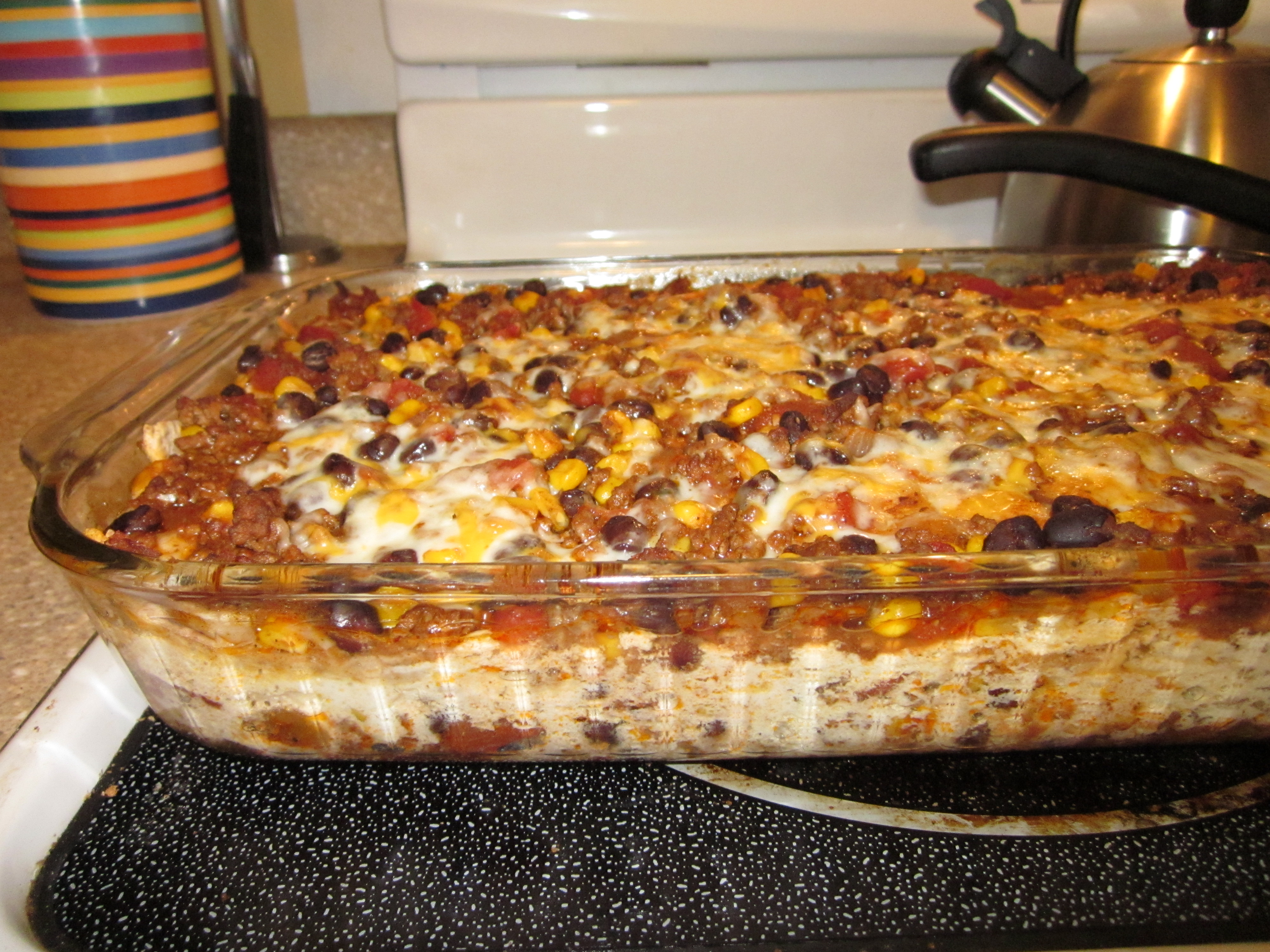 Easy Mexican Lasagna - The Kid-Friendly Home